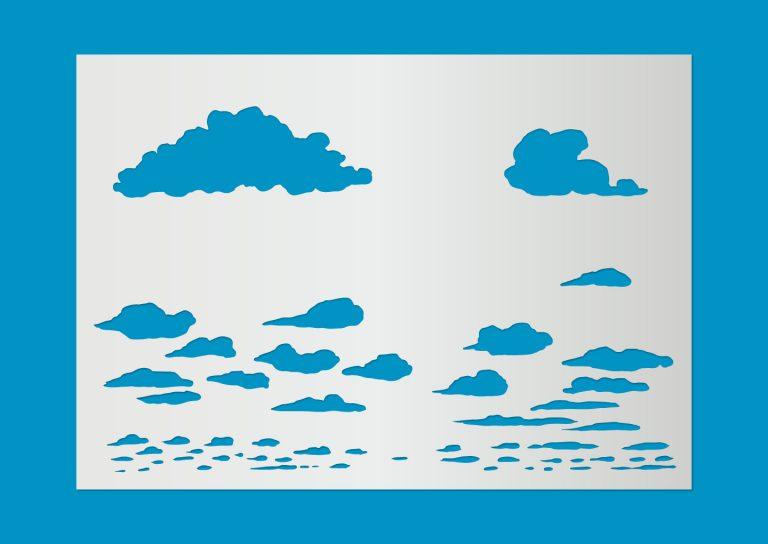 Motivschablone_Wolken